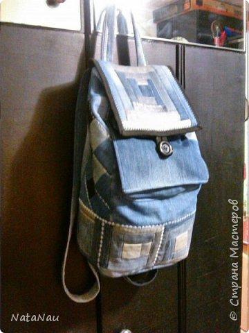 коврик из джинсовых швов фото 6