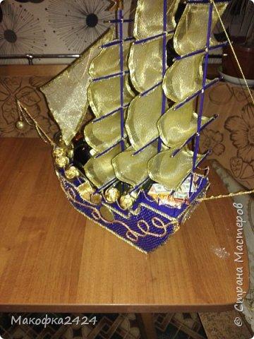Розочки с конфетами фото 15
