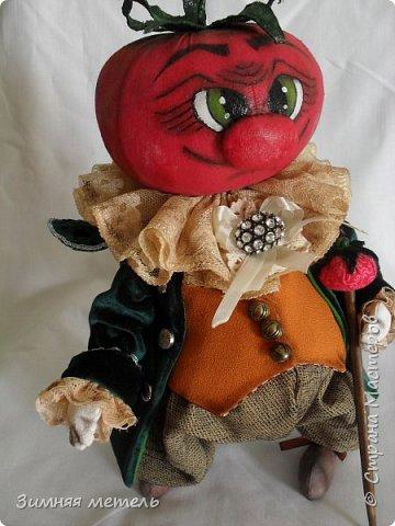 Сшила куклу по МК Голеневой А. рост 30 см - грунтованный текстиль  фото 1