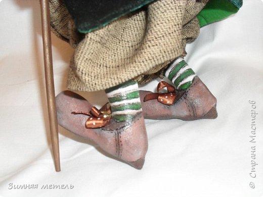 Сшила куклу по МК Голеневой А. рост 30 см - грунтованный текстиль  фото 3