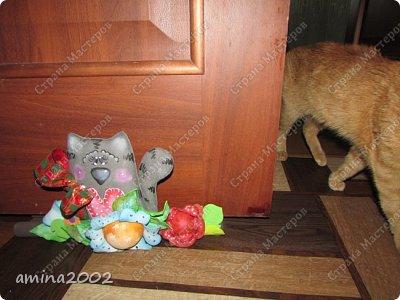 Добрый день! Так уж случилось, что живут у меня в доме три кошки, а если быть точнее два кота и кошка.Четвероногие обитатели нашего дома, категорически не любят закрытые двери, поэтому двери в доме открыты везде, кроме входной двери, даже на лоджию открыты(благо утеплена она). фото 6
