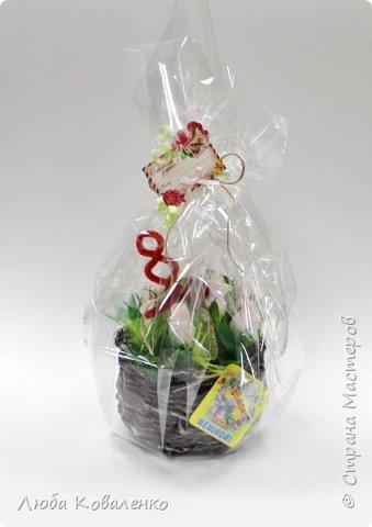 Букет из конфет к 8 марта. фото 1