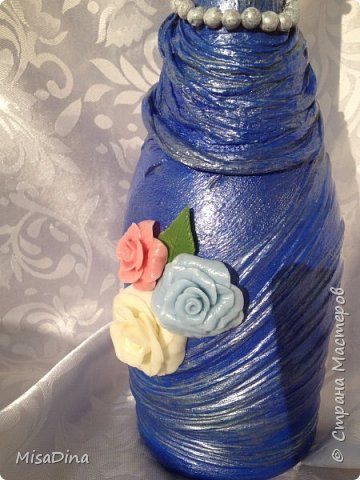 Бутылочки оформила на день рождение для девушек,делала на свой вкус и цвет и угадала. Девочки остались довольны!! фото 4