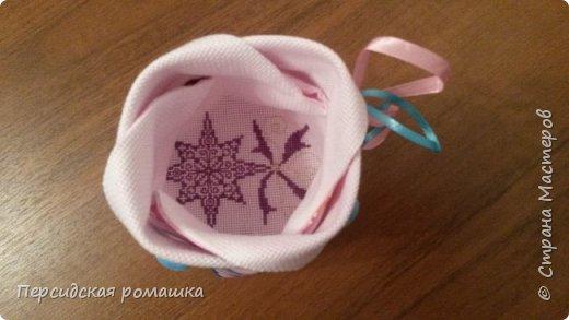 В таких мешочках были небольшие подарки для подружек,внутри небольшая вышивка. фото 16
