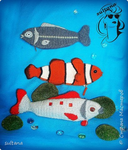 Рыбка- пенал, футляр для мелочи, косметичка, таблетница и т. д.  23-25 см. длина фото 4
