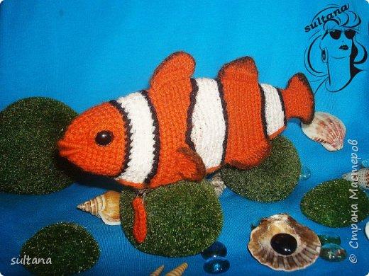 Рыбка- пенал, футляр для мелочи, косметичка, таблетница и т. д.  23-25 см. длина фото 5