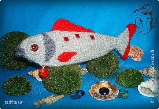 Рыбка- пенал, футляр для мелочи, косметичка, таблетница и т. д.  23-25 см. длина фото 7