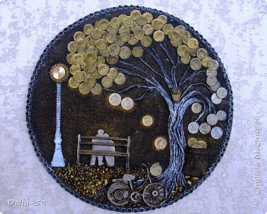 Всем жителям страны,здравствуйте!!!Понравилось мне делать денежные деревья.Здесь  первые (http://stranamasterov.ru/node/1087429).Там есть ссылка на МК и моих вдохновителей. фото 2