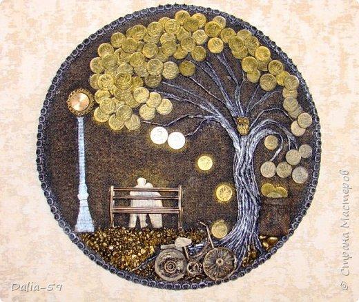 Всем жителям страны,здравствуйте!!!Понравилось мне делать денежные деревья.Здесь  первые (https://stranamasterov.ru/node/1087429).Там есть ссылка на МК и моих вдохновителей. фото 1