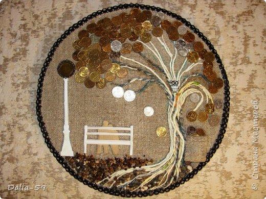 Всем жителям страны,здравствуйте!!!Понравилось мне делать денежные деревья.Здесь  первые (http://stranamasterov.ru/node/1087429).Там есть ссылка на МК и моих вдохновителей. фото 5