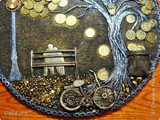 Всем жителям страны,здравствуйте!!!Понравилось мне делать денежные деревья.Здесь  первые (http://stranamasterov.ru/node/1087429).Там есть ссылка на МК и моих вдохновителей. фото 3