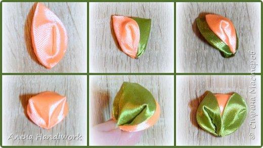 6 вариантов вывернутых лепестков канзаши