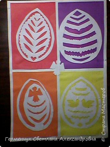 Пасхальные вырезалки   к  празднику - работы ребят 4 класса  фото 16
