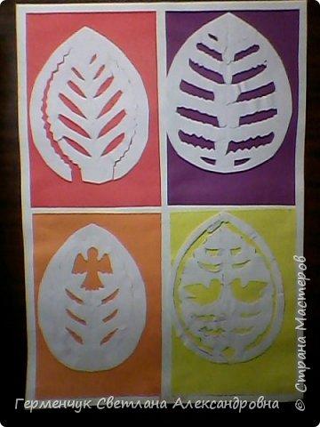 Пасхальные вырезалки   к  празднику - работы ребят 4 класса  фото 14