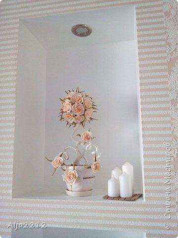 Персиковый топиарчик)) фото 3