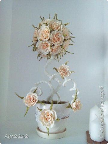 Персиковый топиарчик)) фото 1