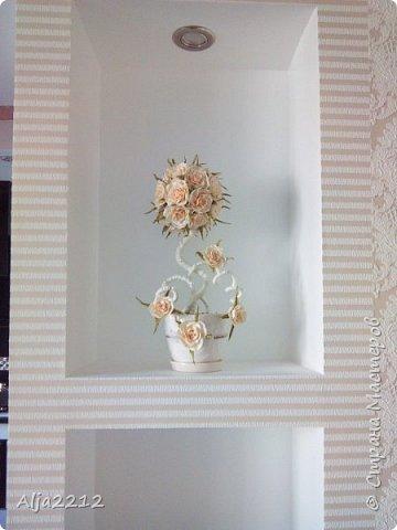 Персиковый топиарчик)) фото 4