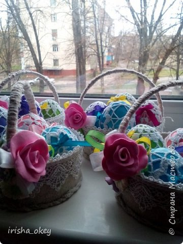 Понадобилось к Пасхе сделать сувениры-подарки...  фото 16