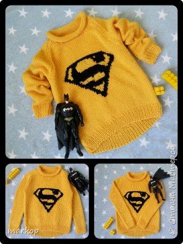кофта супермена