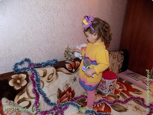 Привет всем гостям моей странички!!! Я к Вам с весенним приветом из солнечной Одессы!!! Хочу показать вам вязанные вещи моей дочурки золотыми ручками её любящих бабушек!!! фото 8