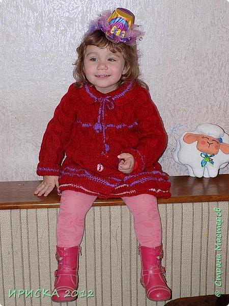 Привет всем гостям моей странички!!! Я к Вам с весенним приветом из солнечной Одессы!!! Хочу показать вам вязанные вещи моей дочурки золотыми ручками её любящих бабушек!!! фото 13