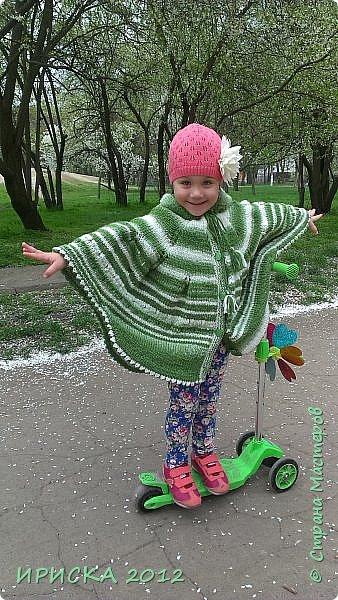 Привет всем гостям моей странички!!! Я к Вам с весенним приветом из солнечной Одессы!!! Хочу показать вам вязанные вещи моей дочурки золотыми ручками её любящих бабушек!!! фото 4
