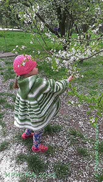 Привет всем гостям моей странички!!! Я к Вам с весенним приветом из солнечной Одессы!!! Хочу показать вам вязанные вещи моей дочурки золотыми ручками её любящих бабушек!!! фото 5