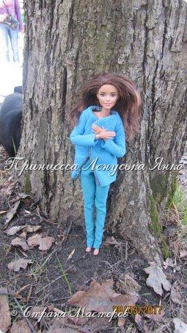 Всем привет, я снова с вами. Сегодня я покажу вам Лерину прогулку в парке в новом пальто.  фото 2