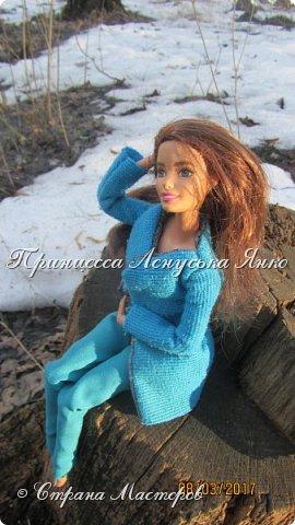 Всем привет, я снова с вами. Сегодня я покажу вам Лерину прогулку в парке в новом пальто.  фото 3