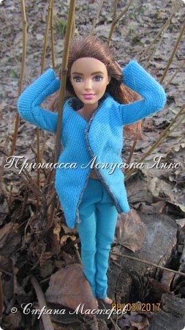 Всем привет, я снова с вами. Сегодня я покажу вам Лерину прогулку в парке в новом пальто.  фото 4