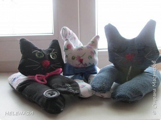 Сегодня я к вам с простенькой пошивушкой ,вернее 3.это котятки.А почему компьютерные?Да на одном иностранном сайте попался вот такой кот,название заинтересовало,мышь компьютерную знаю.а вот с котом не знакома......Оказалось хитрые японцы предлагают одевать такие игрушки-подушки как браслеты на руку.когда сидишь долго за клавиатурой,чтобы руки не уставали.И там было фото девочки с котиком на руке.....и его увидел мой любимый дитёнок....сразу бабушка мне сошьёшь?!Конечно сшила и сразу трёх....Вот первый на руке у Кати,застёжка на пуговки фото 8
