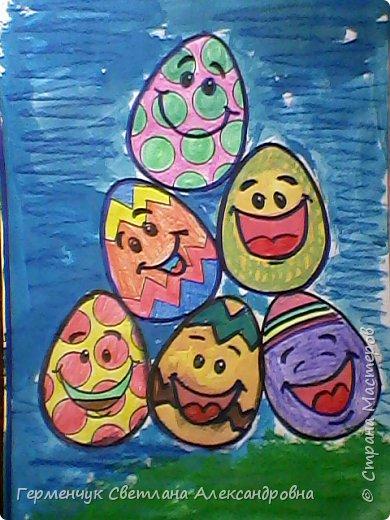 """""""Раскраски к Пасхе"""" - работы ребят 4 """"В"""" класса .  Понравившиеся   рисунки -раскраски  взяли из Интернета.Ребята с удовольствием  работали над раскрашиванием ,старались.Вот какие  получились работы!!! Все -МОЛОДЦЫ!!! фото 17"""