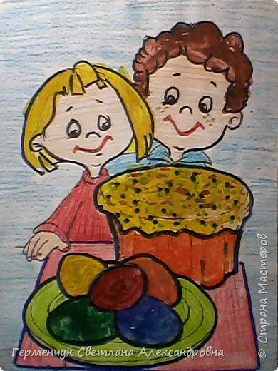 """""""Раскраски к Пасхе"""" - работы ребят 4 """"В"""" класса .  Понравившиеся   рисунки -раскраски  взяли из Интернета.Ребята с удовольствием  работали над раскрашиванием ,старались.Вот какие  получились работы!!! Все -МОЛОДЦЫ!!! фото 19"""