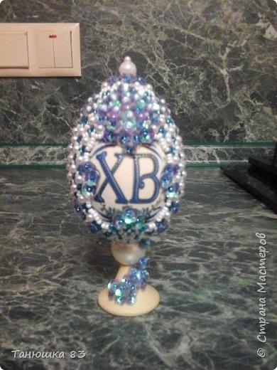 Здравствуйте. Вот такой яйцо сделала в подарок подруге. фото 6