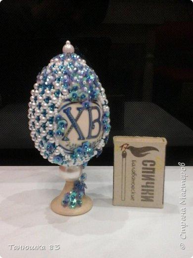 Здравствуйте. Вот такой яйцо сделала в подарок подруге. фото 5