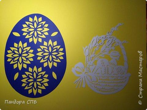 """Пасхальные яйца А3 формата. Бумага """"Вивальди"""". Заламинированы. фото 3"""