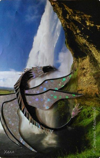 Дракончик Черныш - мой любимчик в серии драконов.  И хотелось бы поведать, как его сделать. фото 1