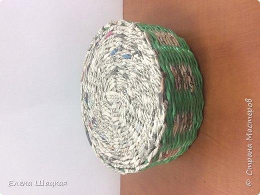 Сова сделана из белой кромки газет, покрашена морилкой клен, разбавленной. Это моя первая сова. Было сделано еще пять штук, но каждый раз что-то в них меняла. В следующей записи обязательно покажу последние экземпляры. фото 5