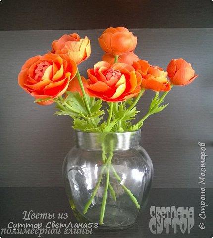 анютки, огоньки и тюльпаны из ХФ фото 4
