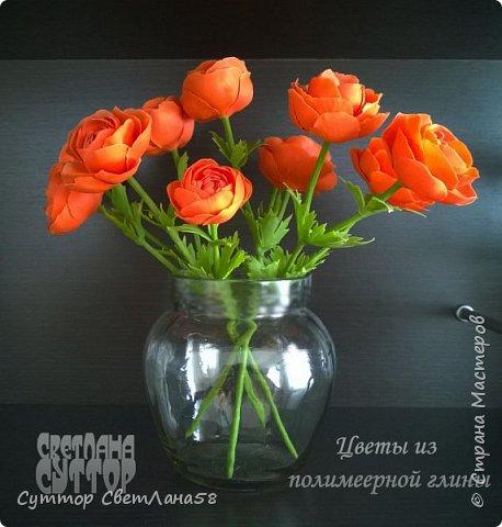 анютки, огоньки и тюльпаны из ХФ фото 5