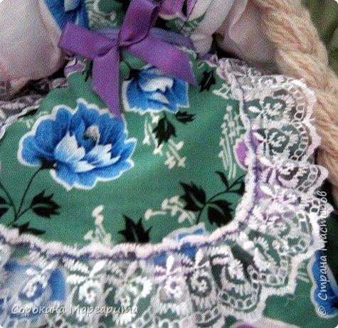 Сшита давно и уже уехала в г. Заречный кукла на чайник Мария фото 4