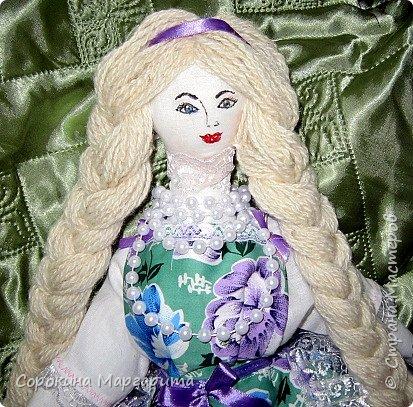 Сшита давно и уже уехала в г. Заречный кукла на чайник Мария фото 1