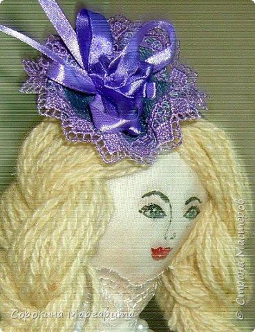 Сшита давно и уже уехала в г. Заречный кукла на чайник Мария фото 6