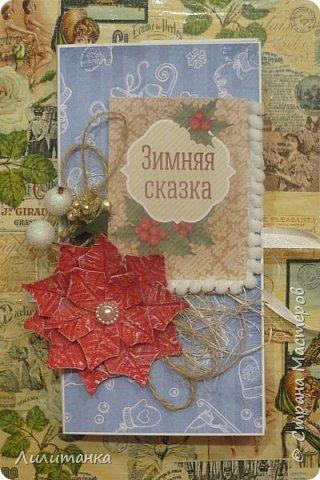 Ну и что, что март заканчивается) А у меня новогодние работы не показаны...  Шоколадницы) Универсальный подарок! фото 13