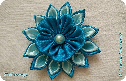 Цветы канзаши мастер класс для начинающих рукодельниц