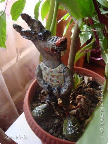 заяц с гирей в 65кг и столько же лет папе фото 1
