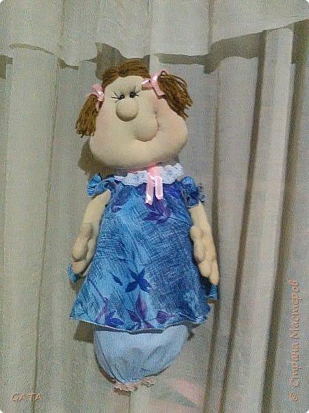 Кукла - пакетница.