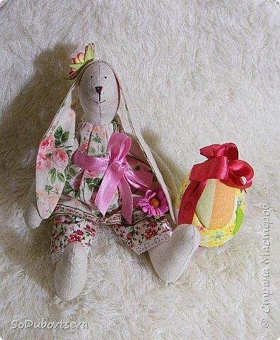 """мои работы для игры-обмену """" Совместный пошив пасхального кролика"""" фото 1"""