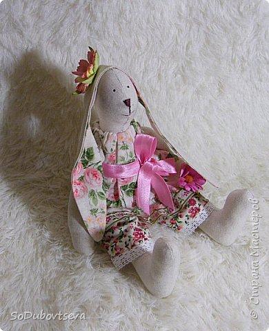 """мои работы для игры-обмену """" Совместный пошив пасхального кролика"""" фото 2"""
