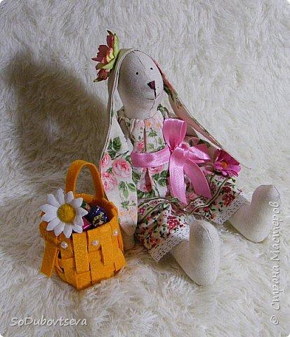"""мои работы для игры-обмену """" Совместный пошив пасхального кролика"""" фото 3"""